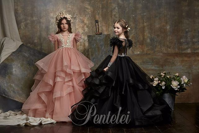 festive children's dresses wholesale