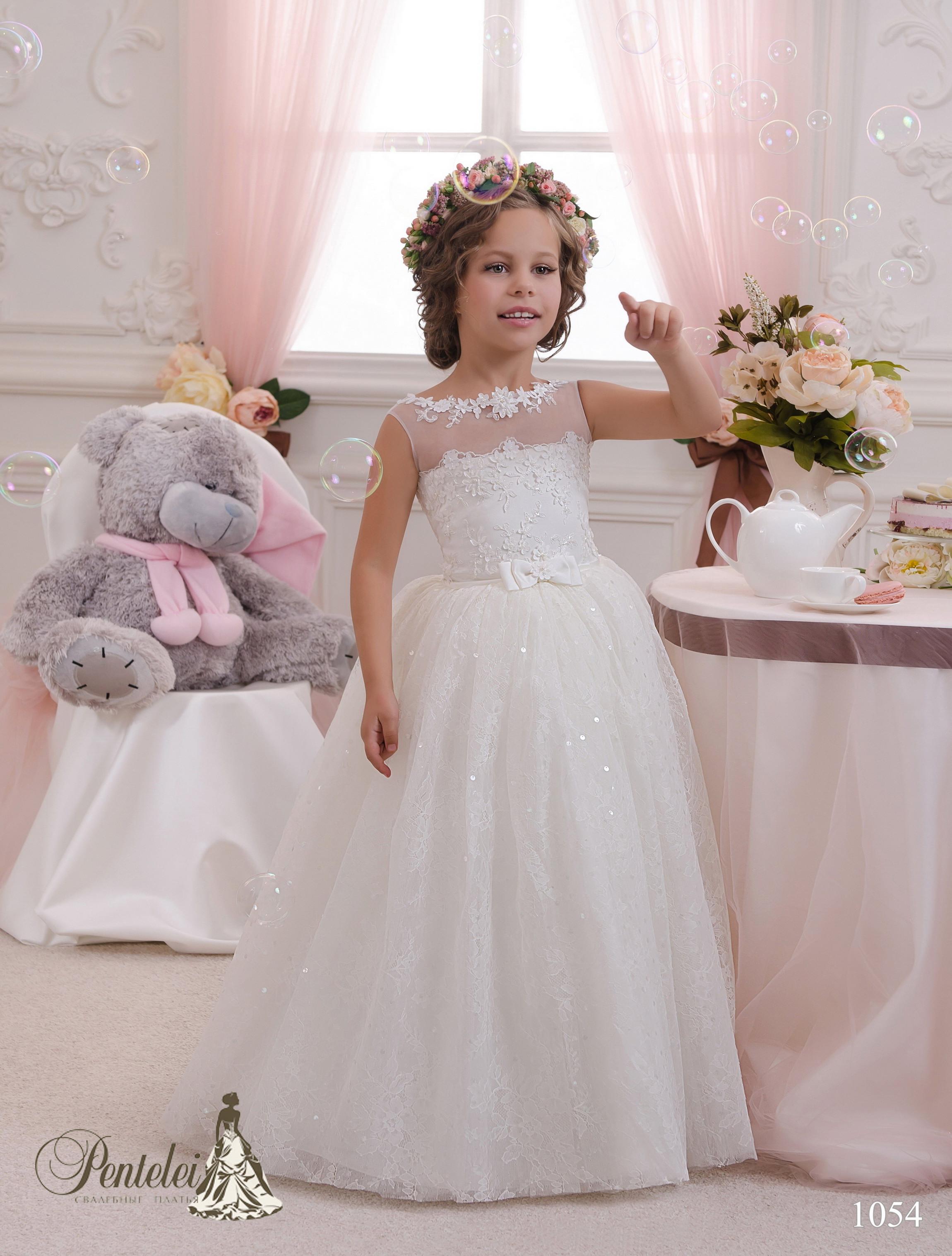 1054 | Купити дитячі сукні оптом від Pentelei