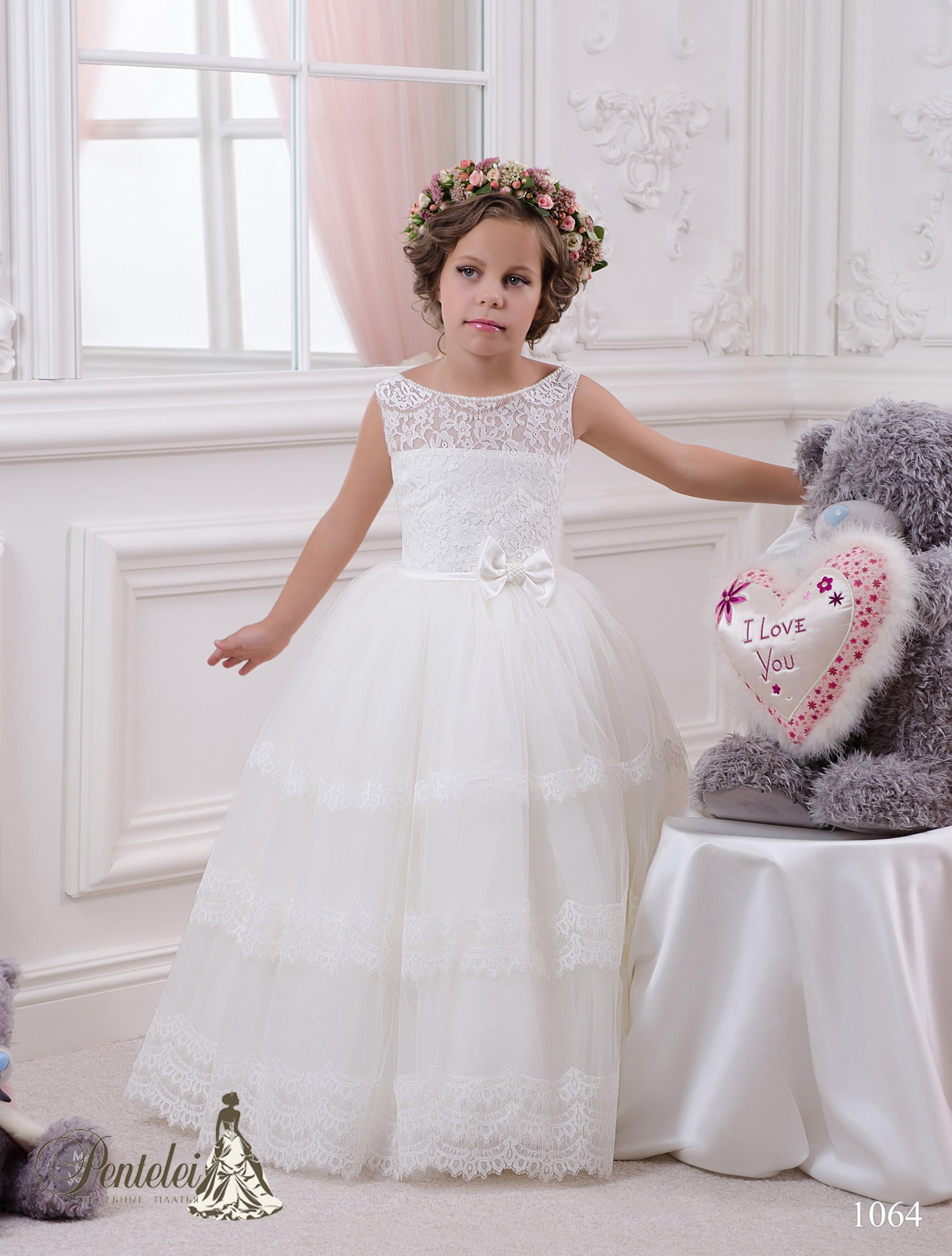 1064 | Купити дитячі сукні оптом від Pentelei