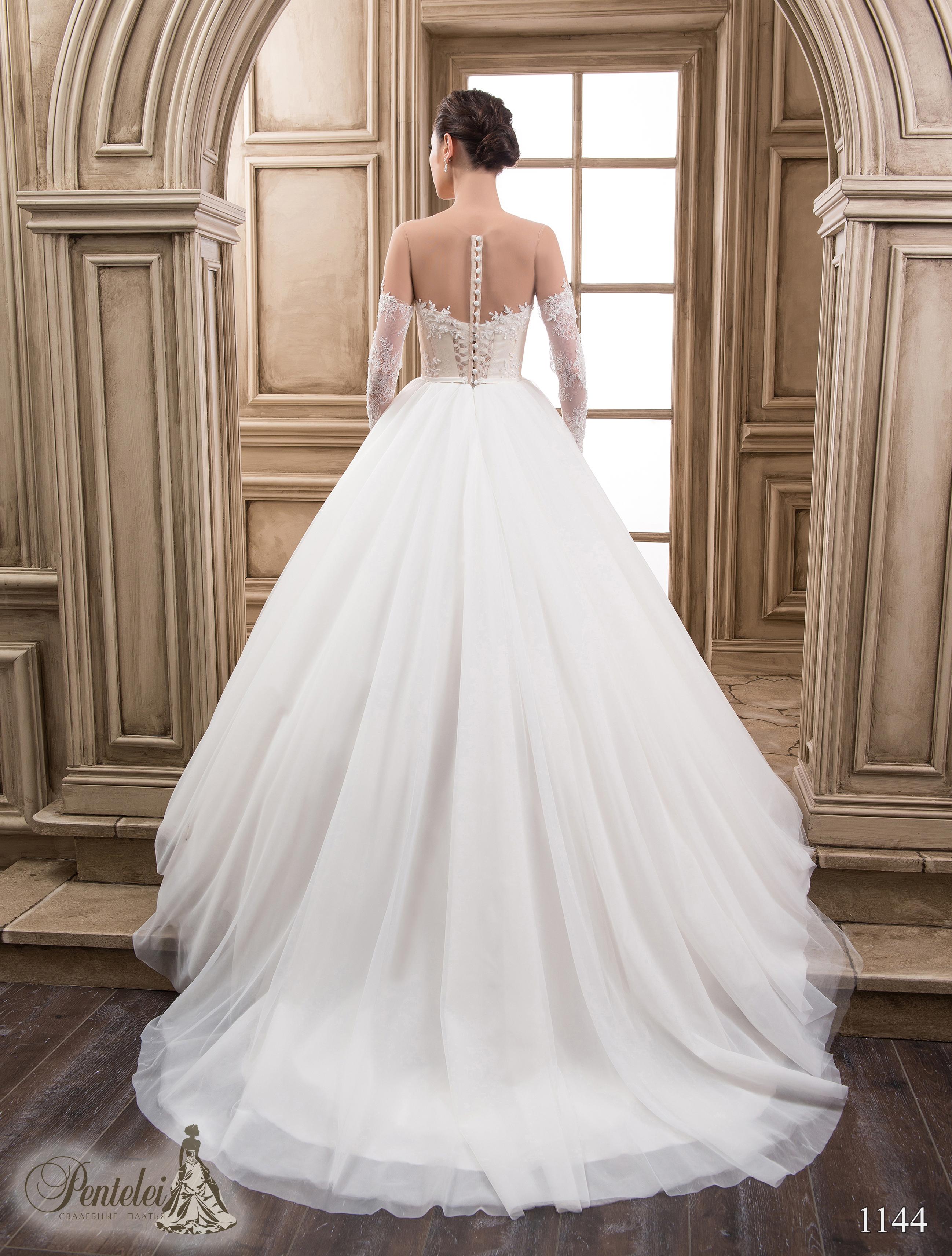 1144 | Купить свадебные платья оптом от Pentelei
