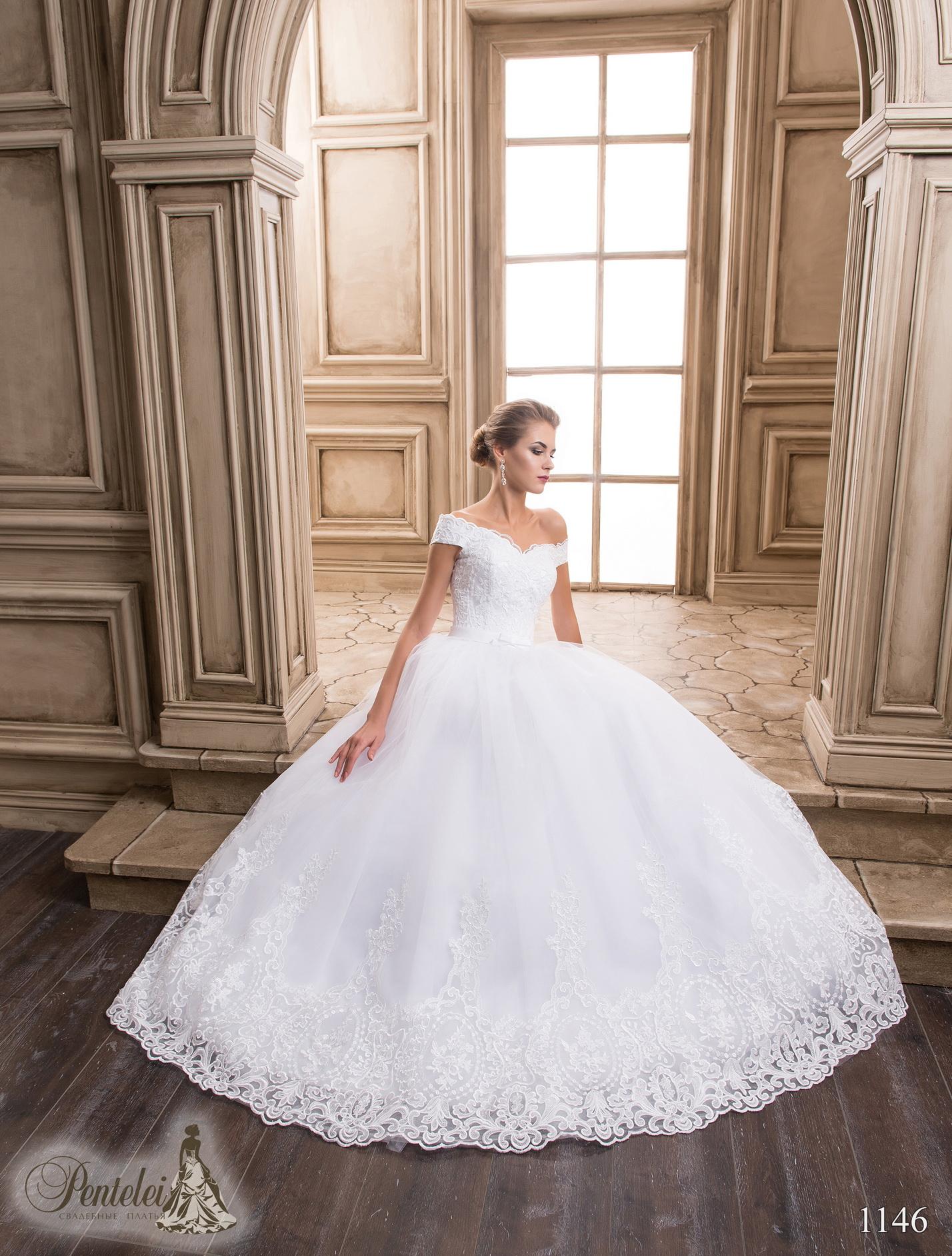 1146   Купить свадебные платья оптом от Pentelei