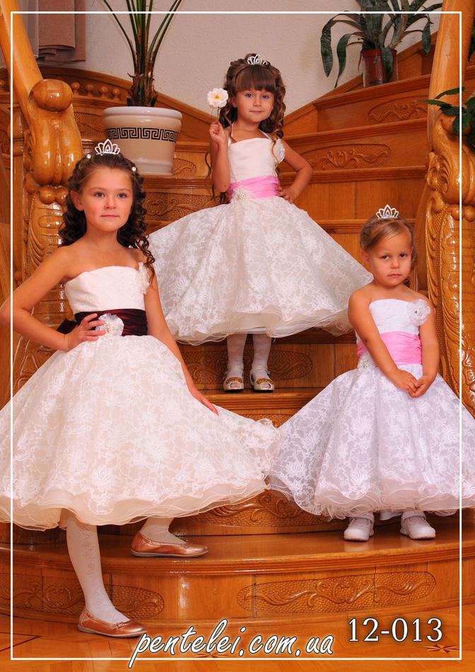 12-013   Купити дитячі сукні оптом від Pentelei