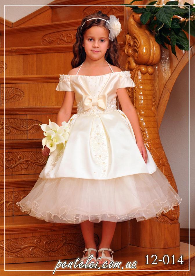 12-014 | Купити дитячі сукні оптом від Pentelei