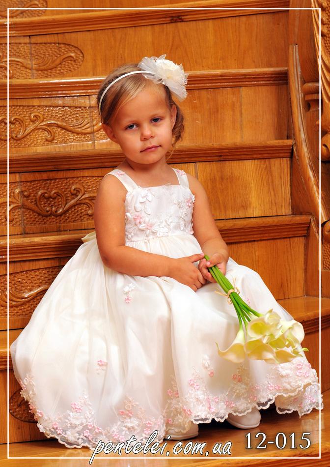 12-015 | Купити дитячі сукні оптом від Pentelei
