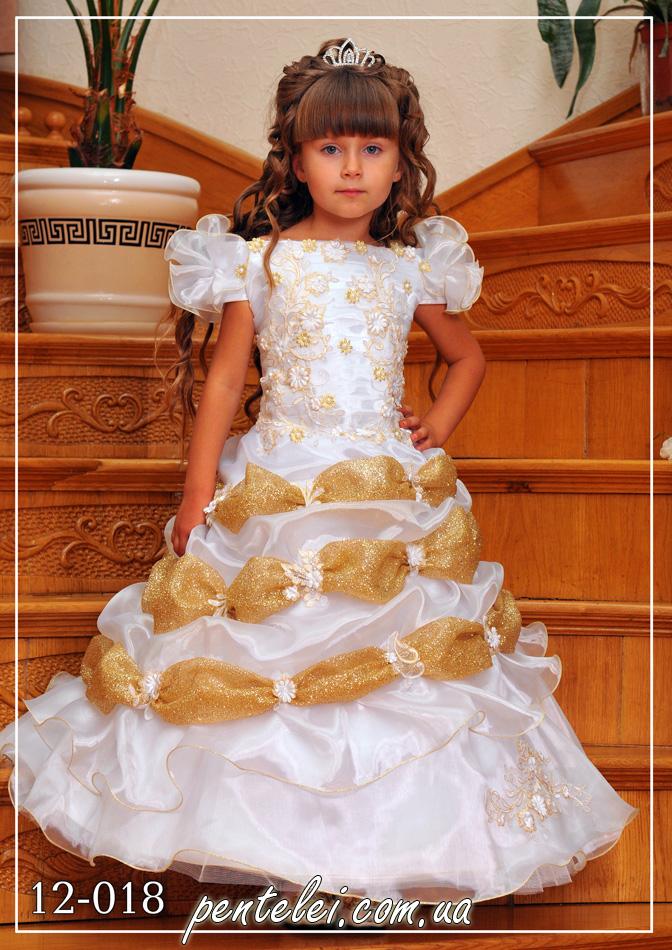 12-018 | Купити дитячі сукні оптом від Pentelei