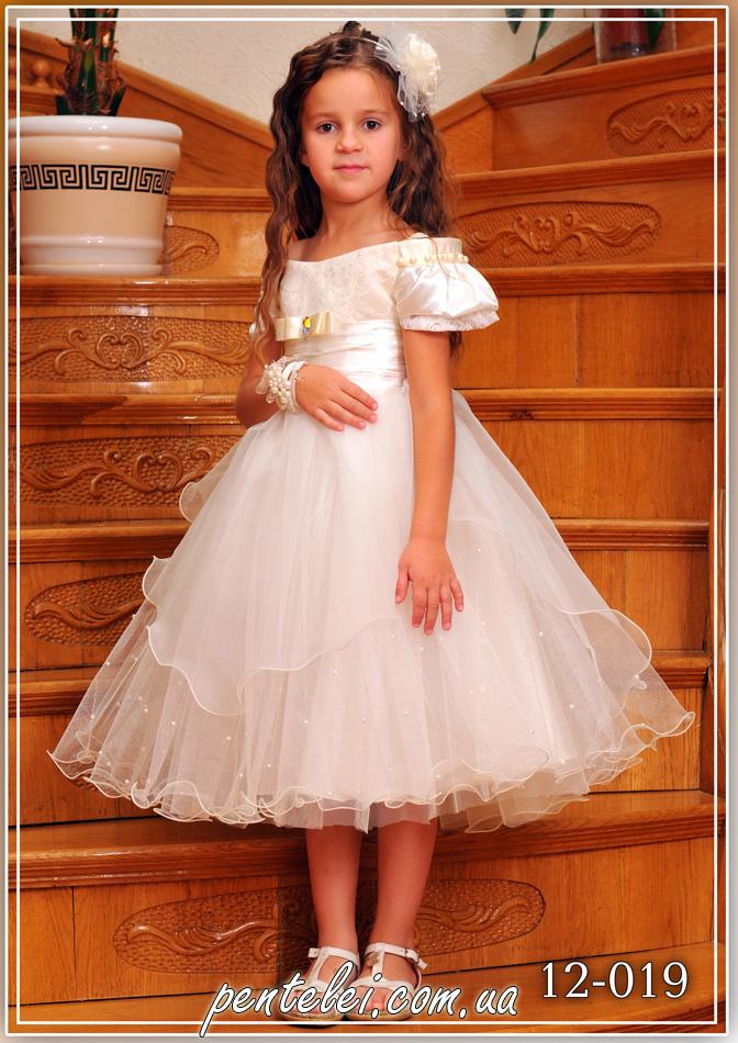 12-019 | Купити дитячі сукні оптом від Pentelei