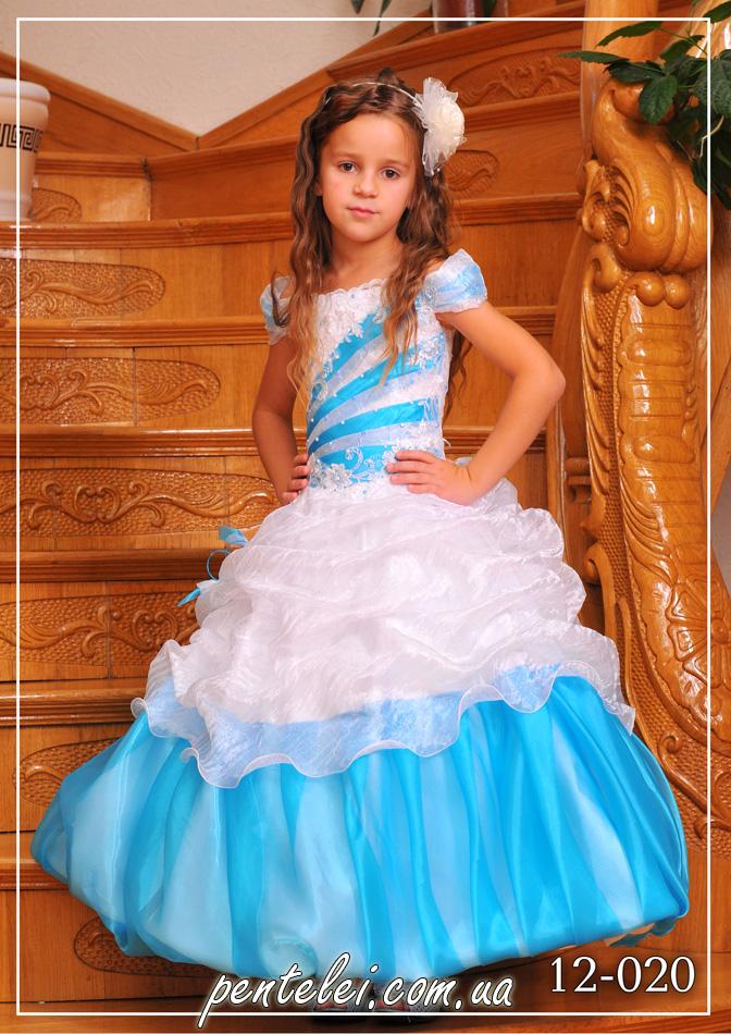 12-020 | Купити дитячі сукні оптом від Pentelei