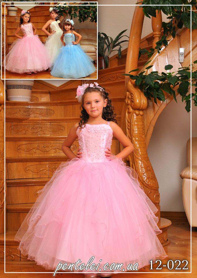 12-022 | Купити дитячі сукні оптом від Pentelei