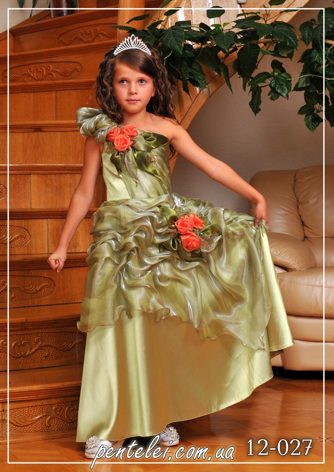 12-027 | Купити дитячі сукні оптом від Pentelei
