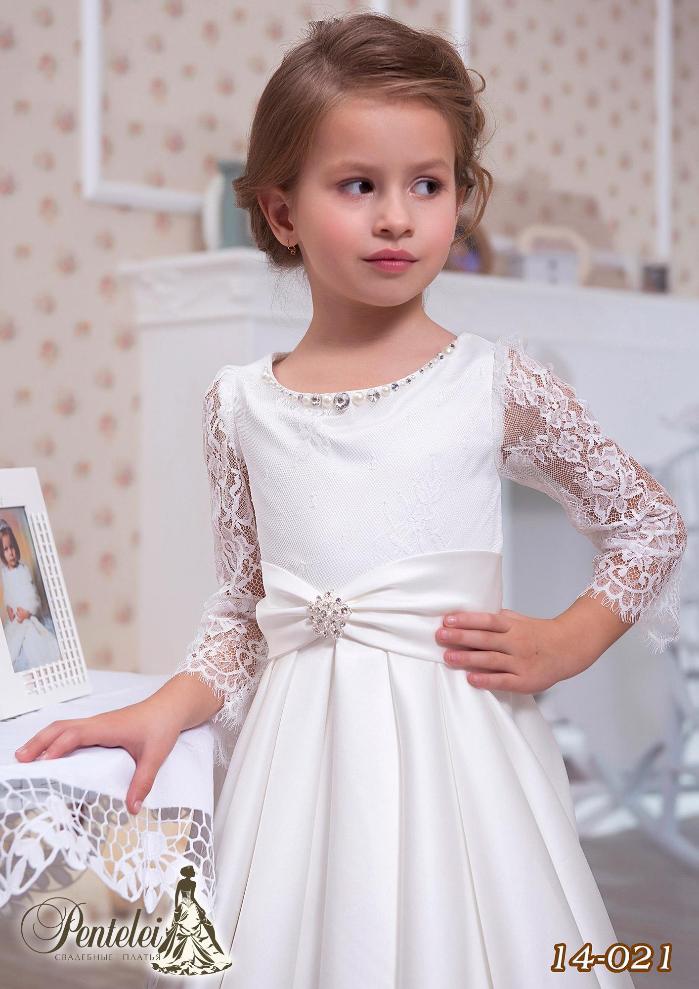 14-021 | Купити дитячі сукні оптом від Pentelei