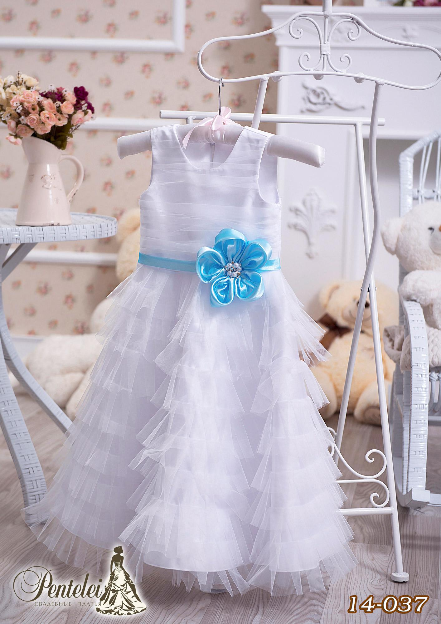 14-037 | Купити дитячі сукні оптом від Pentelei