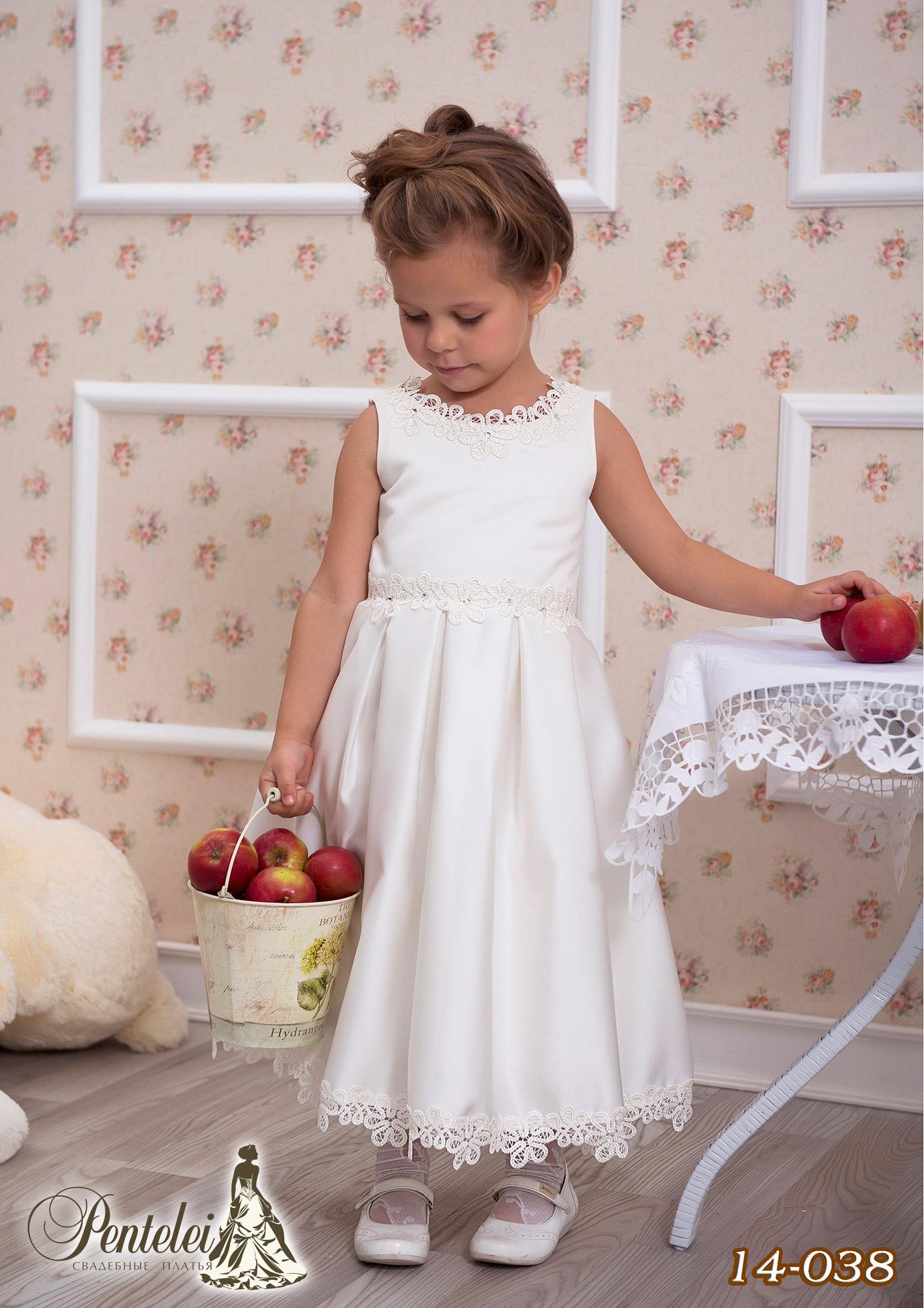 14-038 | Купити дитячі сукні оптом від Pentelei
