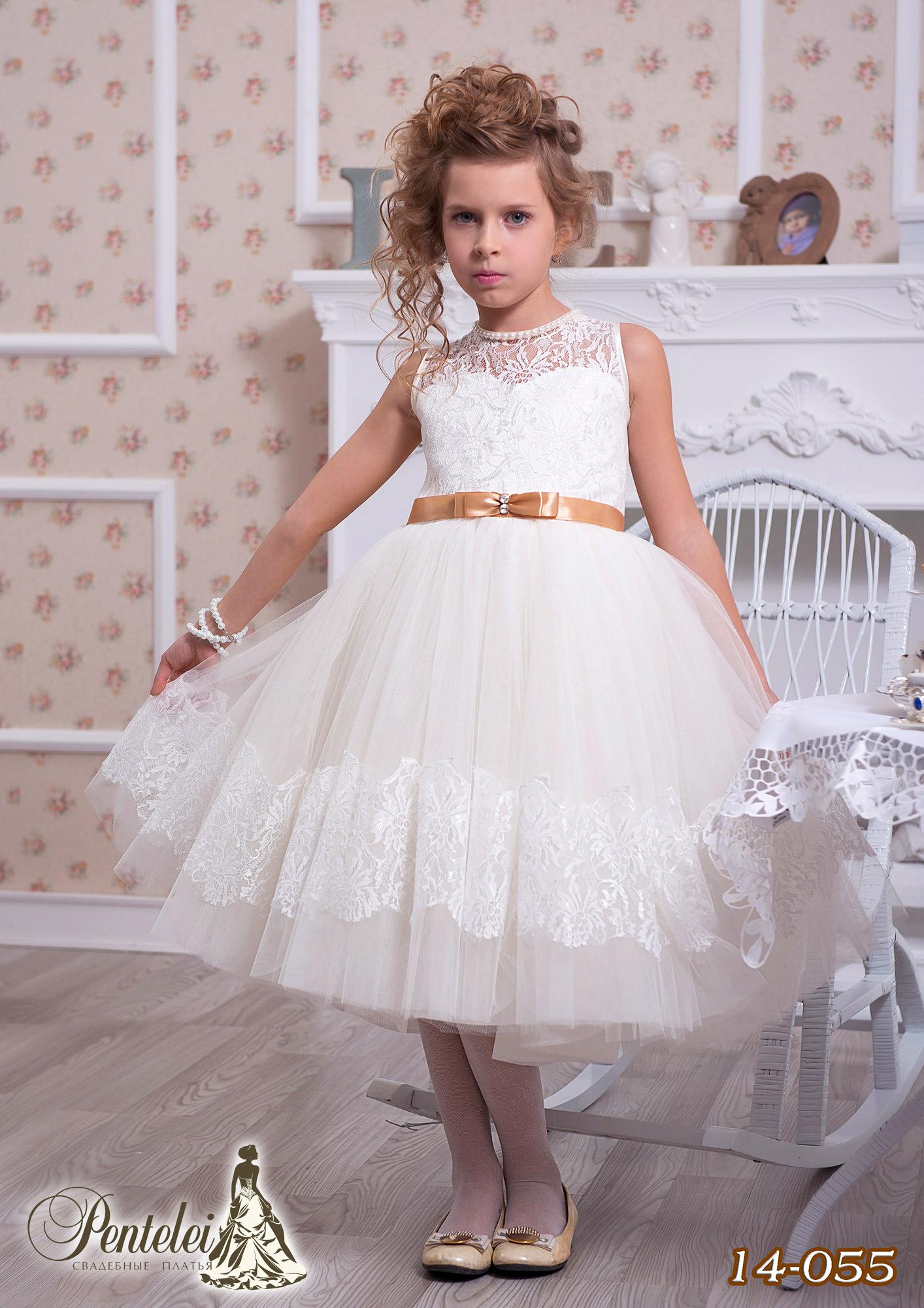 14-055 | Купити дитячі сукні оптом від Pentelei