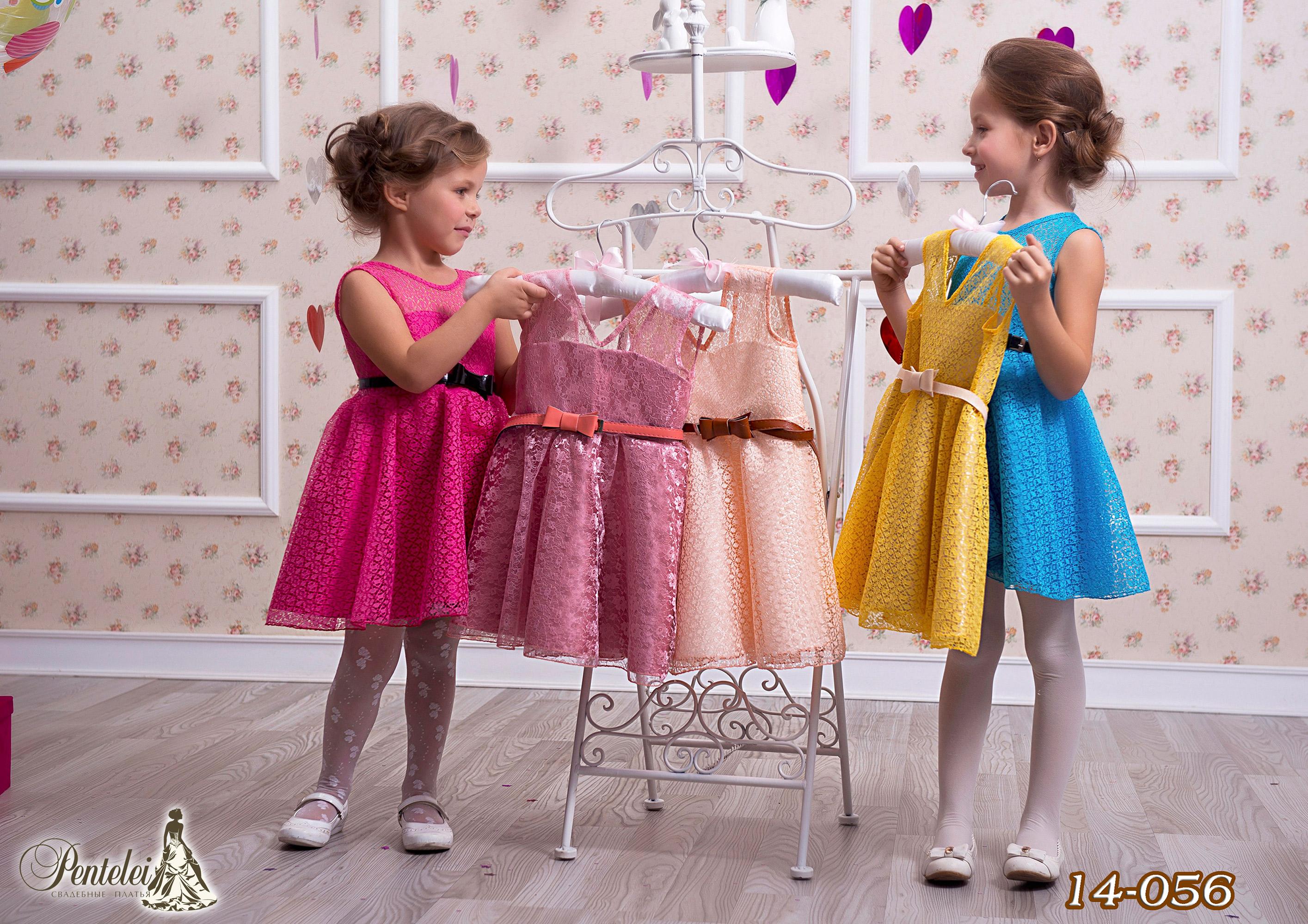 14-056 | Купити дитячі сукні оптом від Pentelei