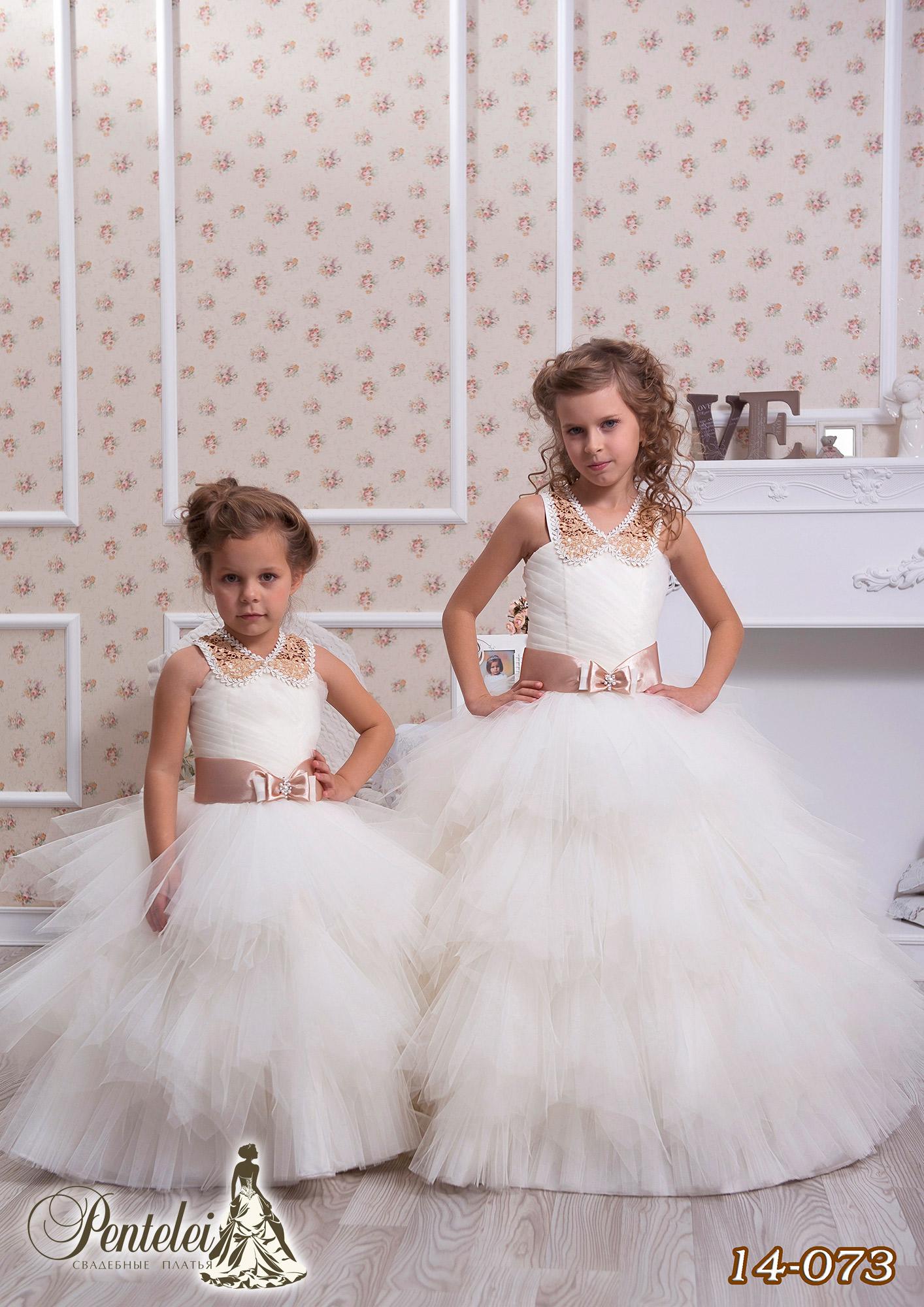 14-073 | Купити дитячі сукні оптом від Pentelei