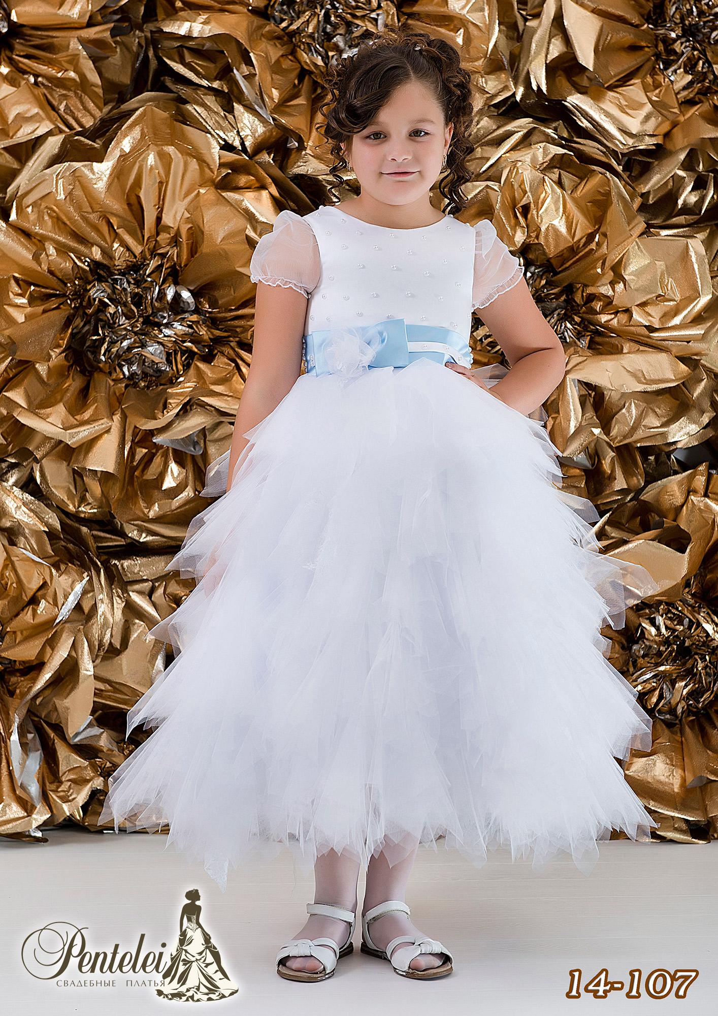 14-107 | Купити дитячі сукні оптом від Pentelei