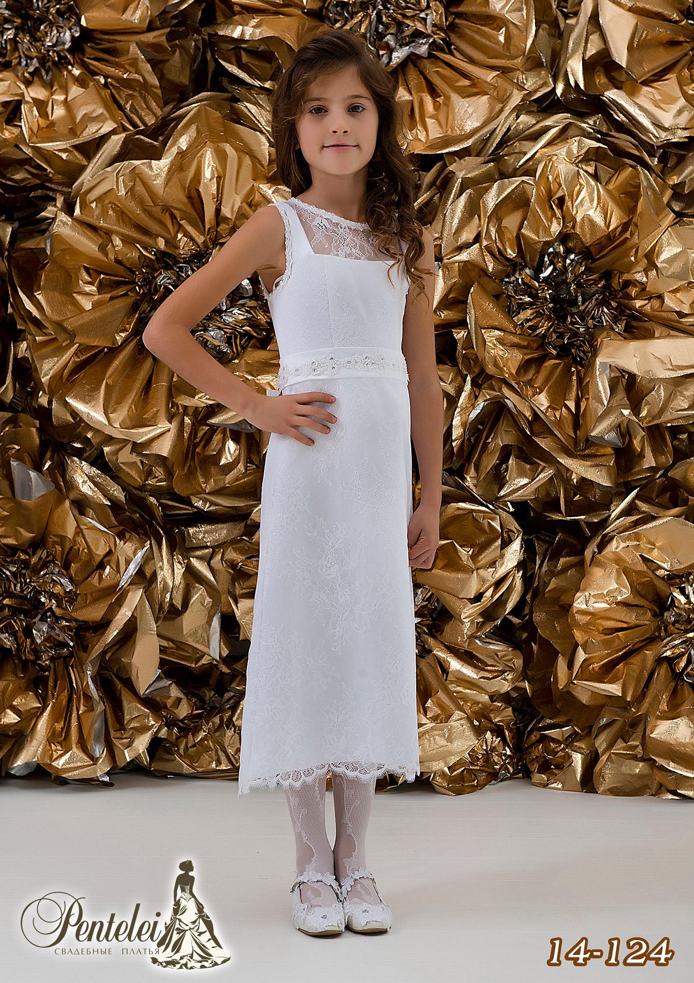 14-124 | Купити дитячі сукні оптом від Pentelei