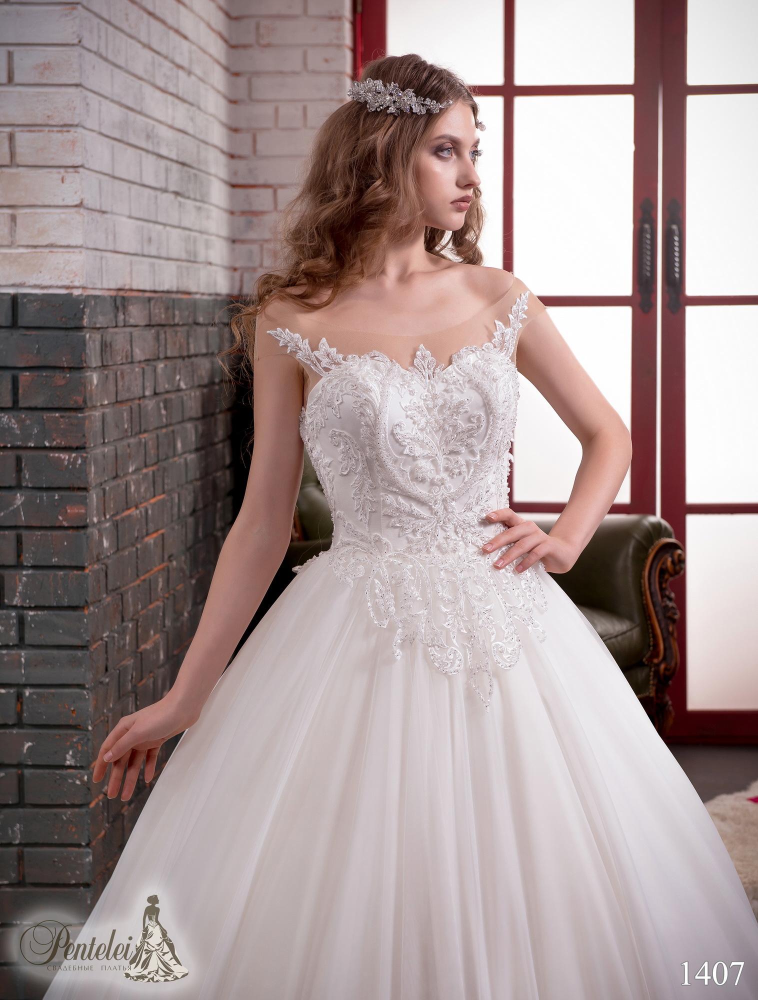 1407 | Купить свадебные платья оптом от Pentelei