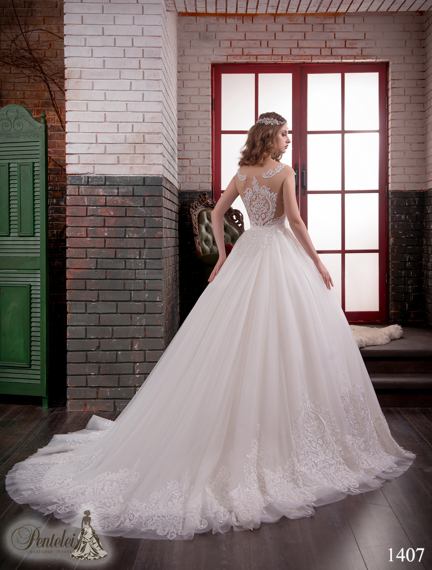 1407 | Buy wedding dresses wholesale from Pentelei