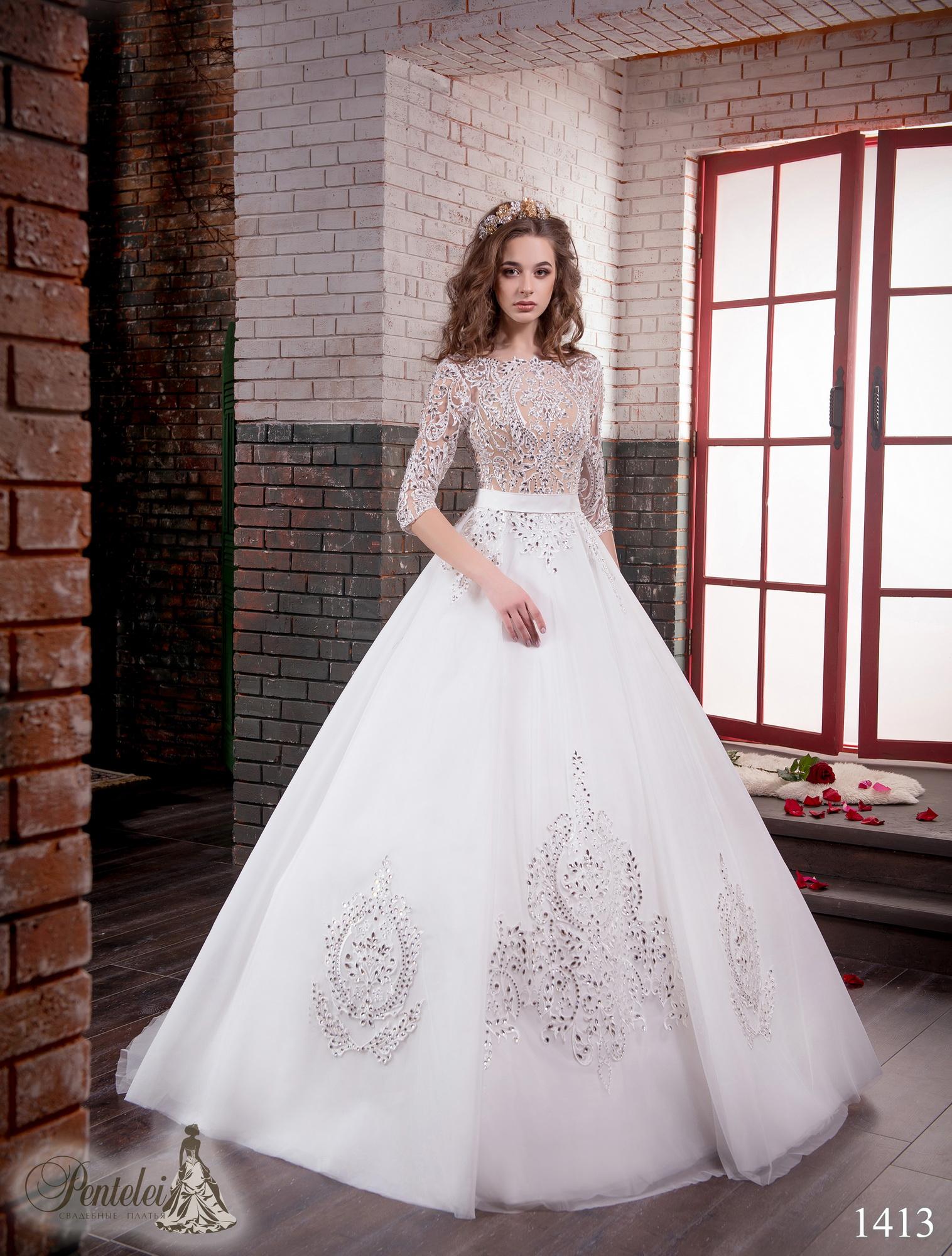 1413 | Купить свадебные платья оптом от Pentelei