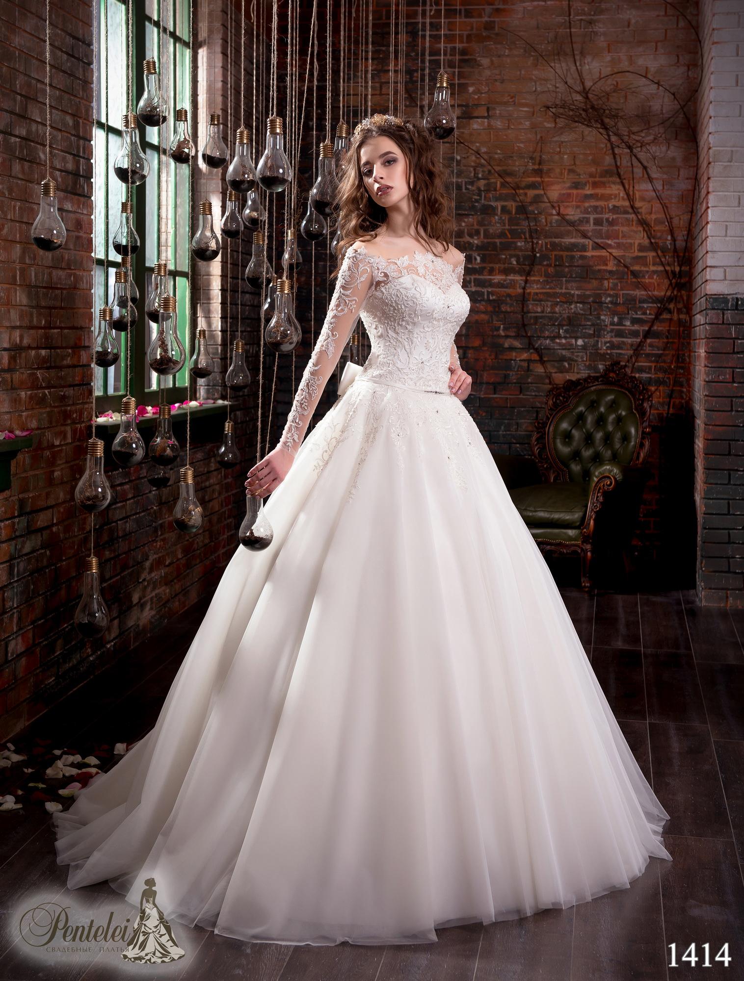 1414 | Купить свадебные платья оптом от Pentelei