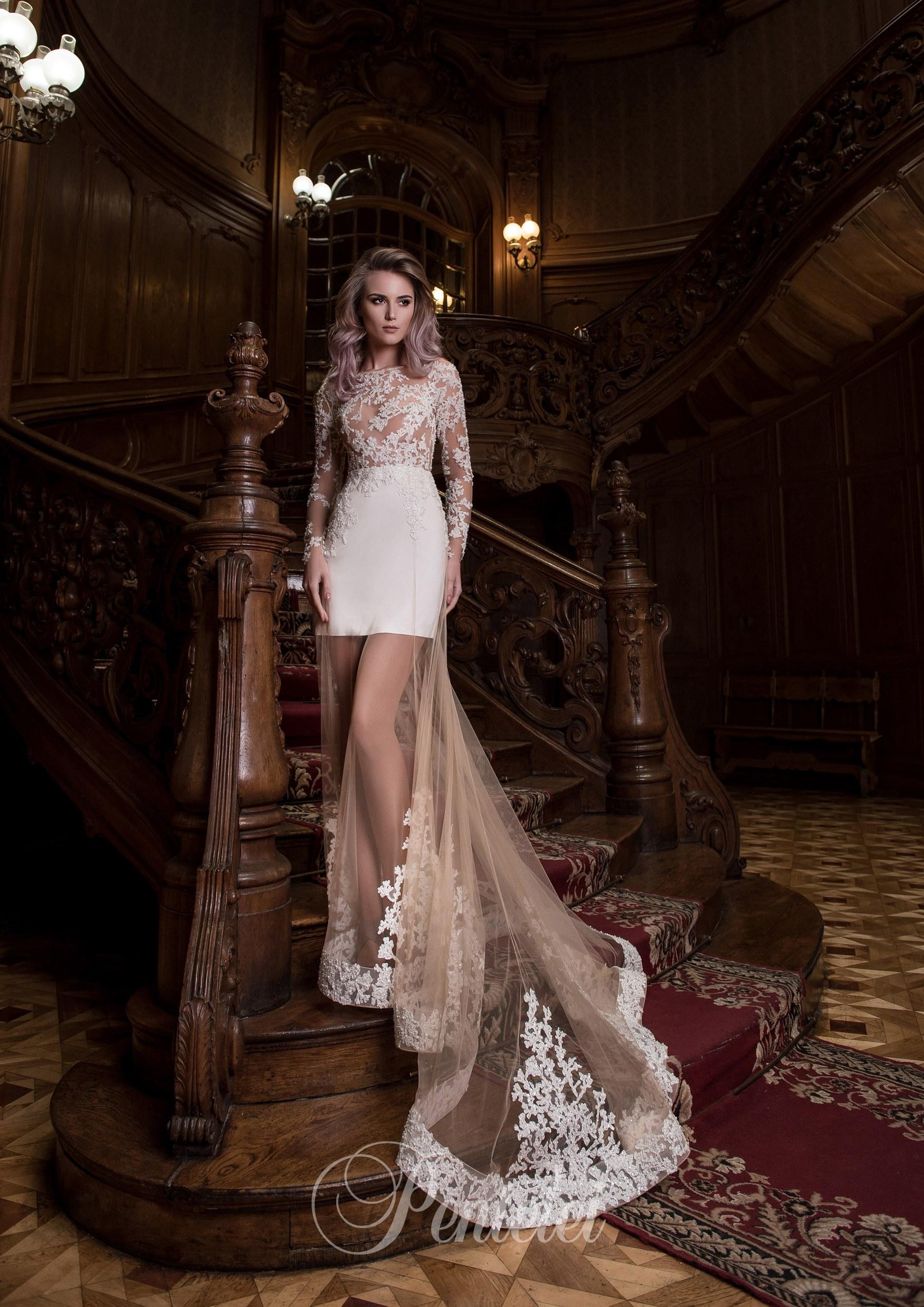Прозрачные юбки невесты 14