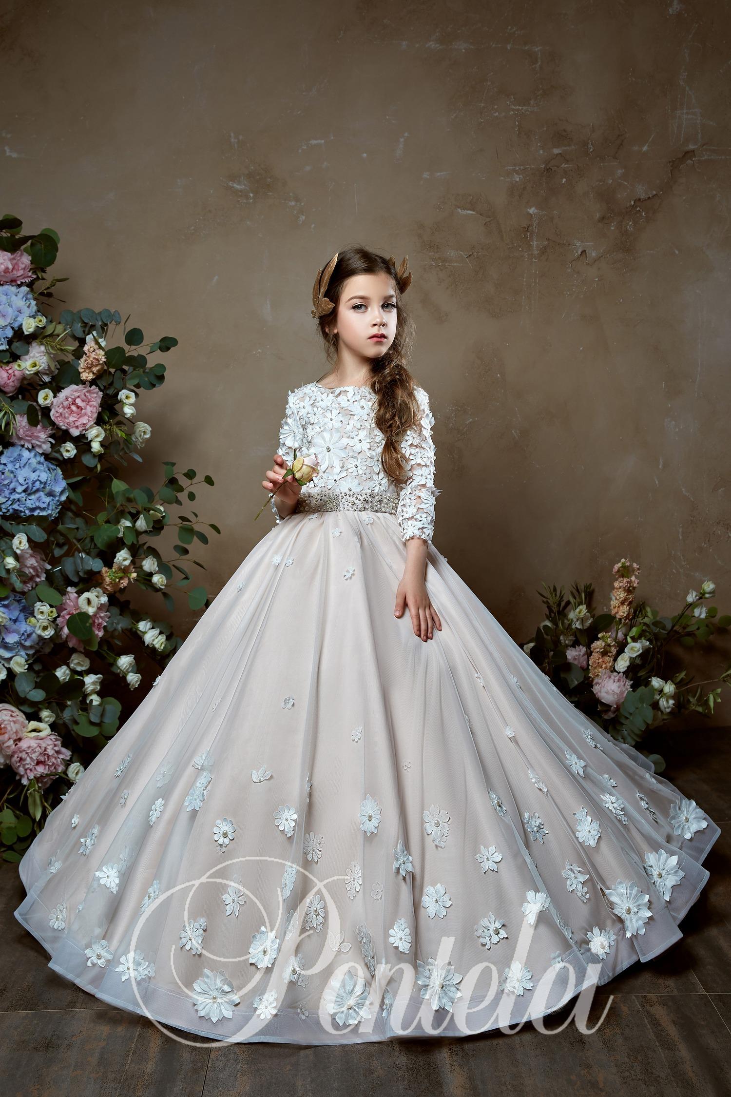 Пышное детское платье от производителя оптом