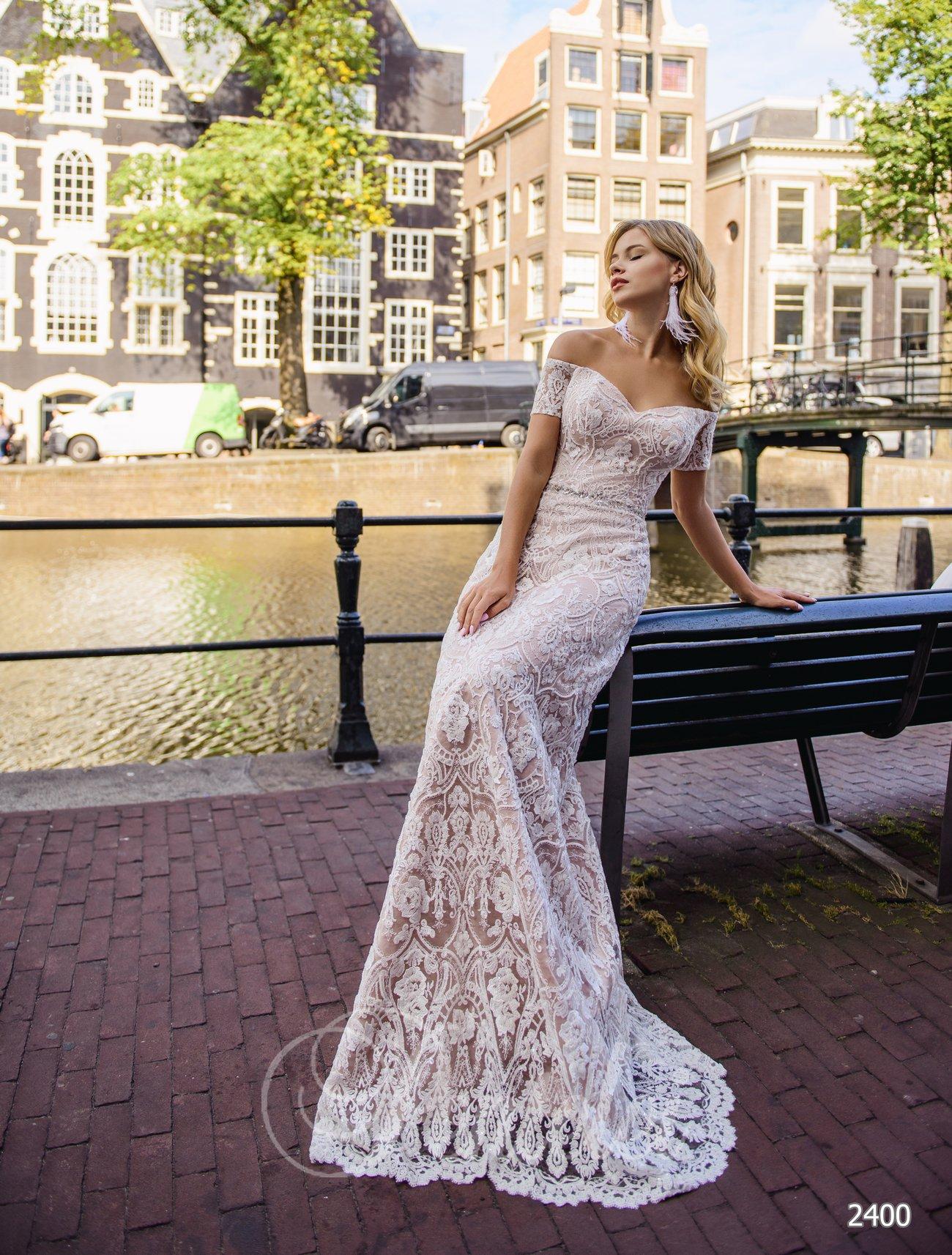 Свадебное платье русалка от Pentelei