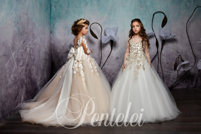 детские платья фото на моделях
