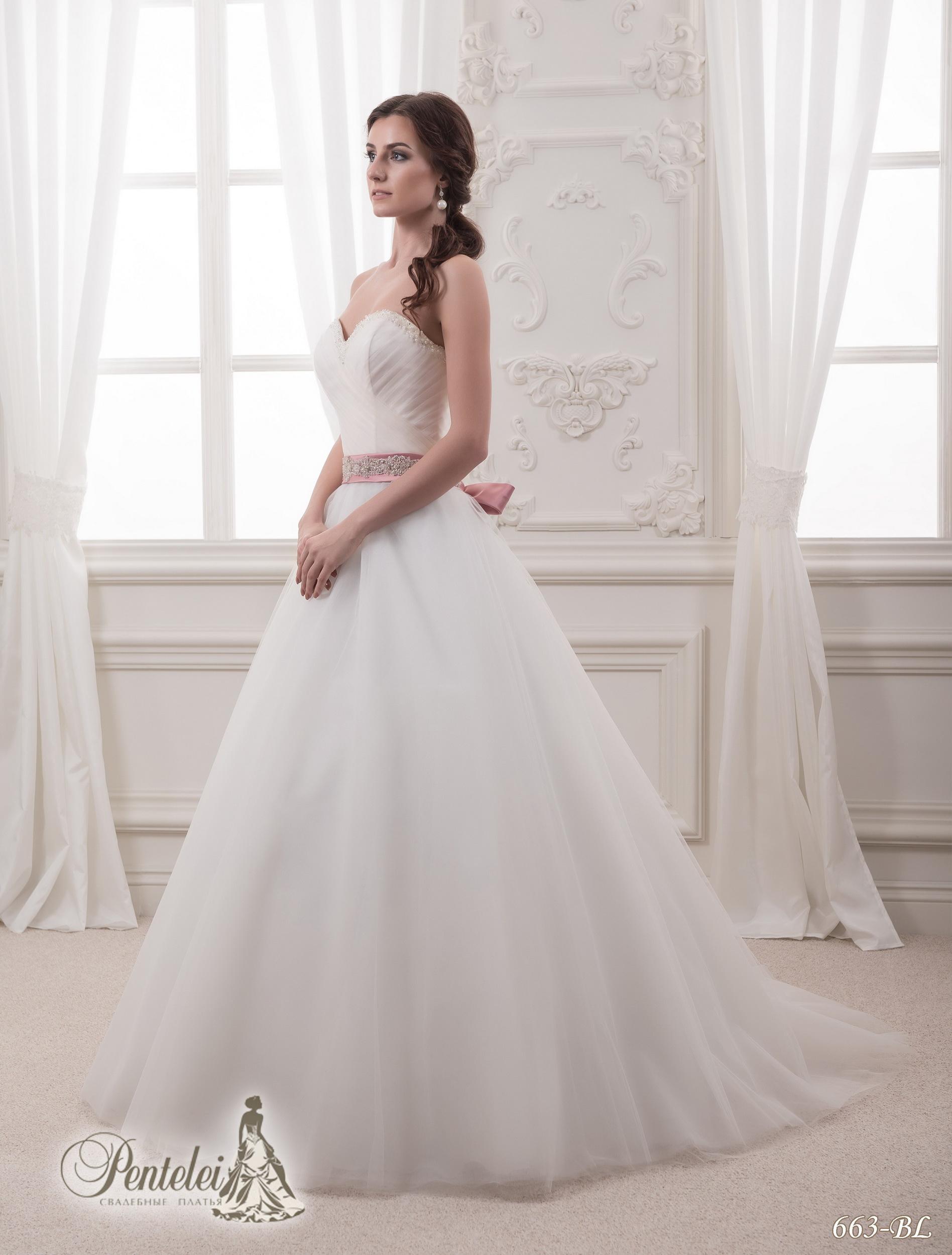 663-BL | Cumpăra rochii de mireasă en-gros de Pentelei