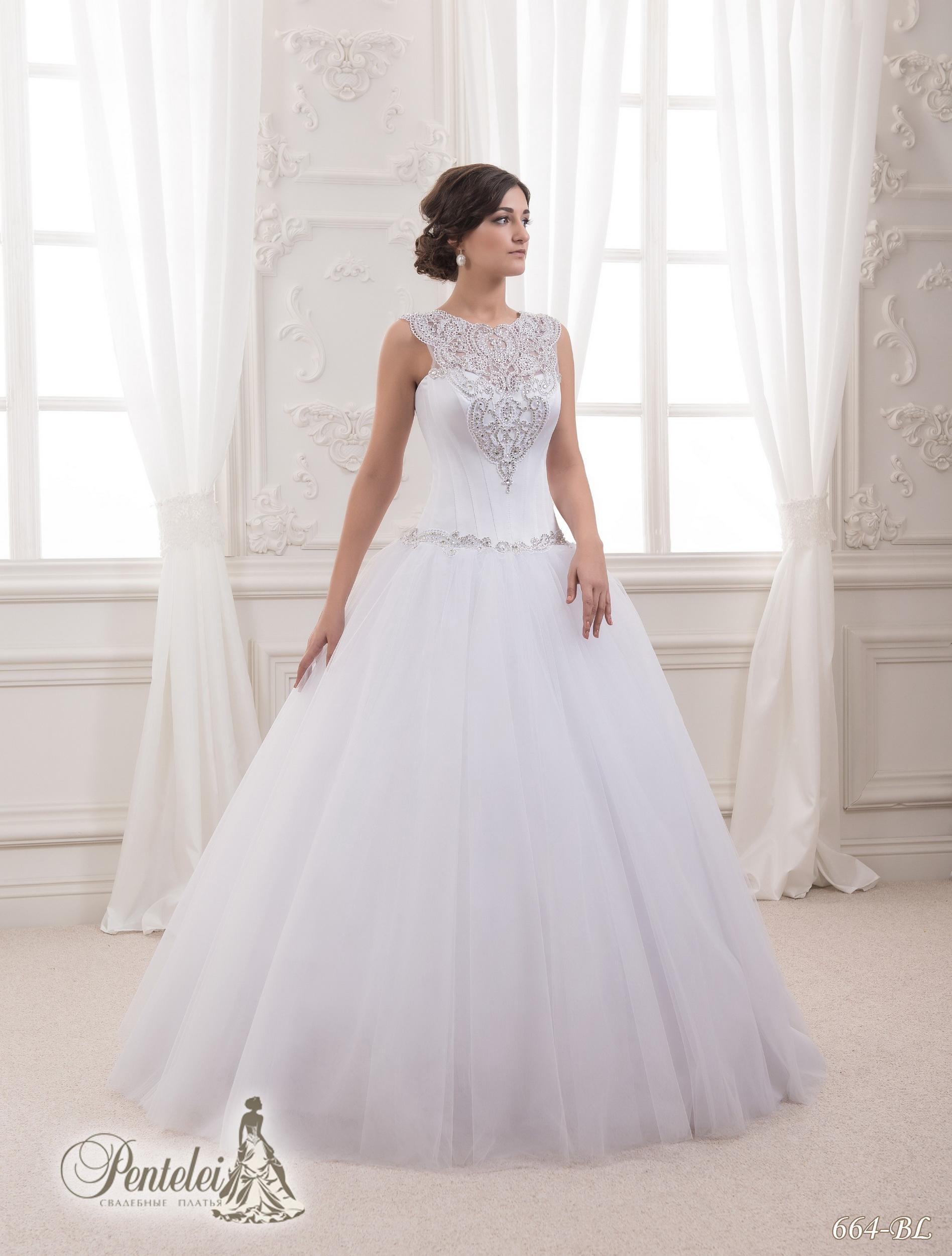 664-BL | Cumpăra rochii de mireasă en-gros de Pentelei
