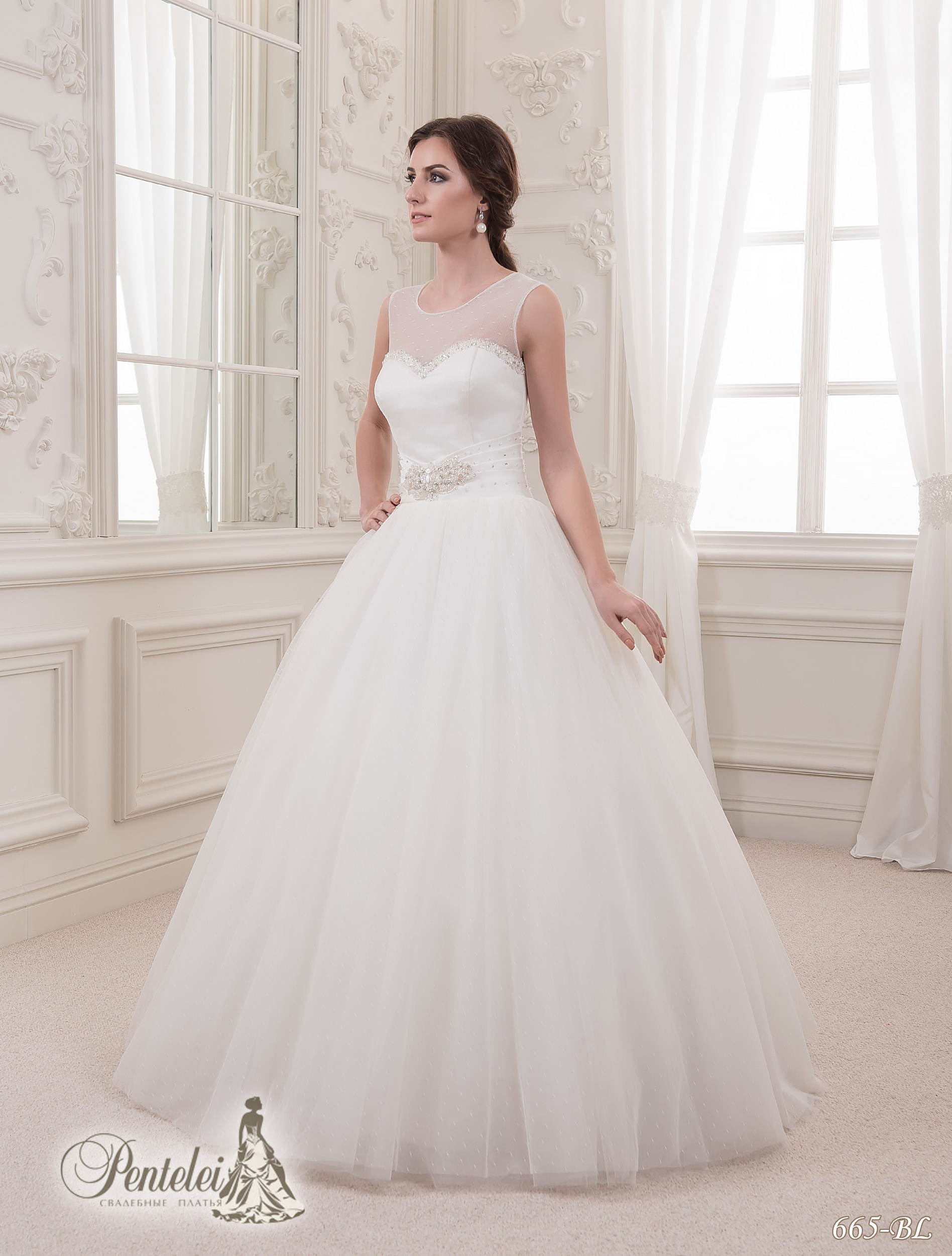 665-BL | Cumpăra rochii de mireasă en-gros de Pentelei