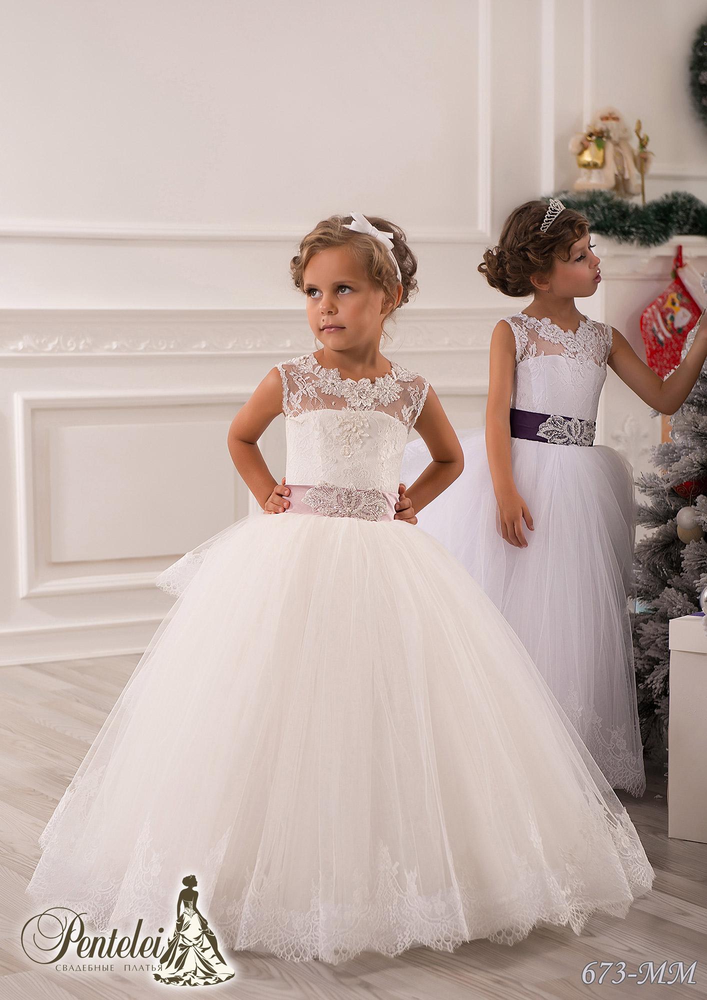673-MM | Купити дитячі сукні оптом від Pentelei