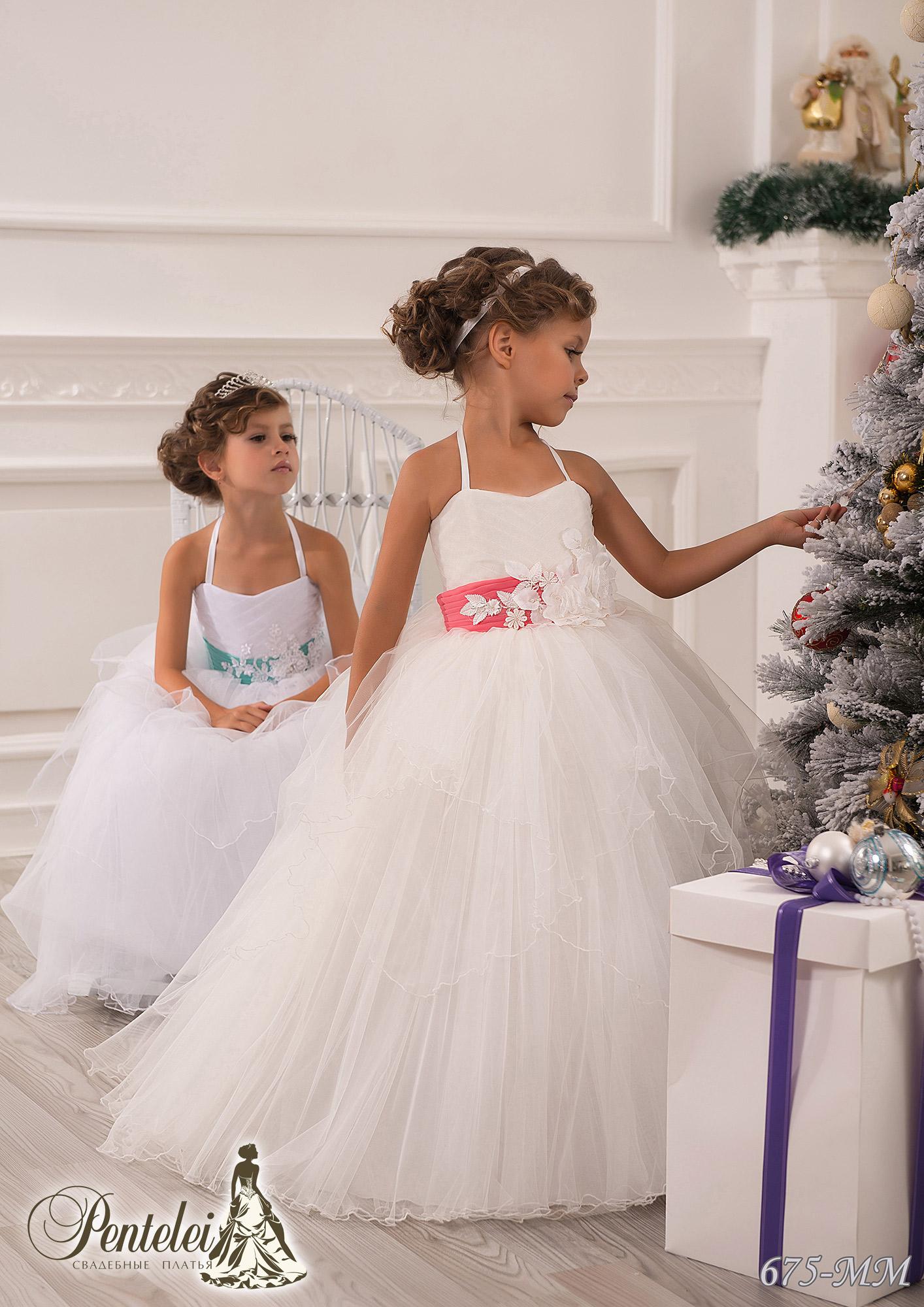 675-MM | Купити дитячі сукні оптом від Pentelei