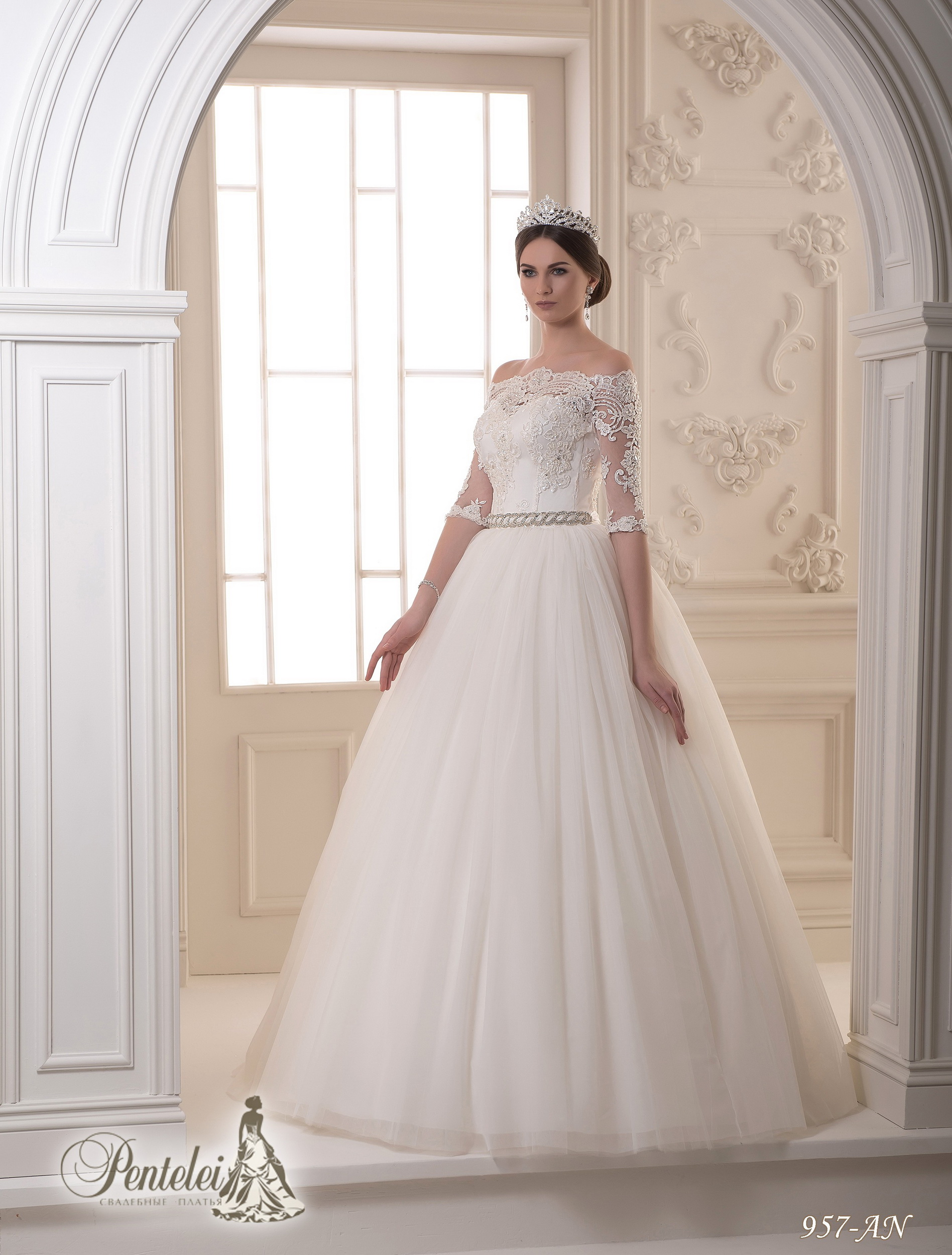 957-AN | Buy wedding dresses wholesale from Pentelei
