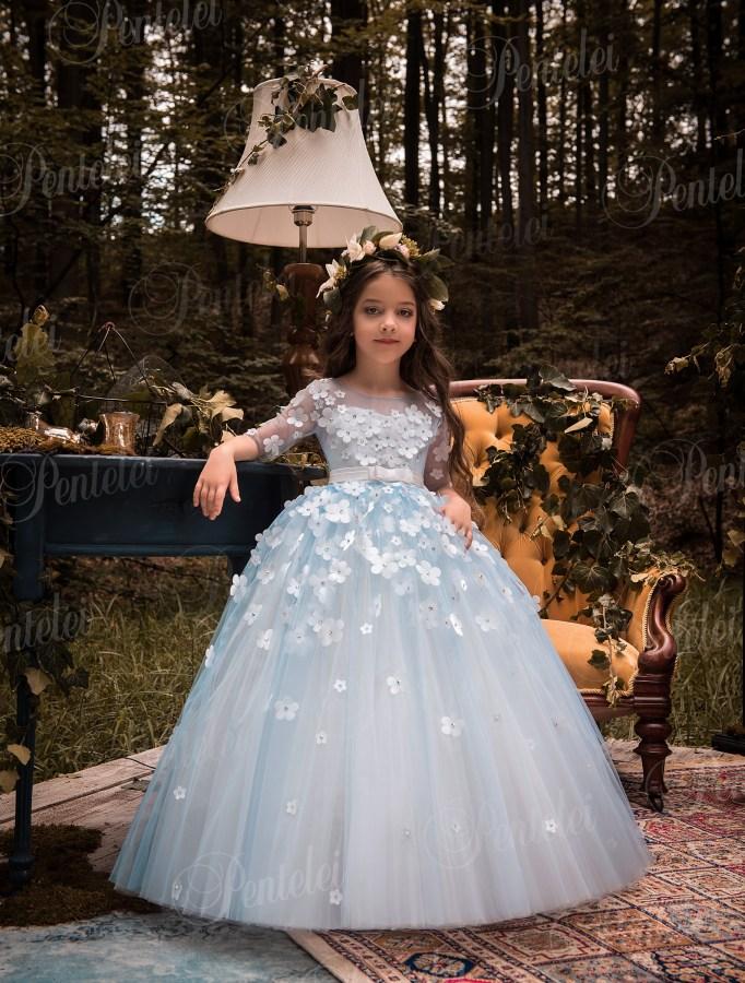 9ed2fa3a6ee3 Купить нарядные детские платья оптом от производителя Pentelei