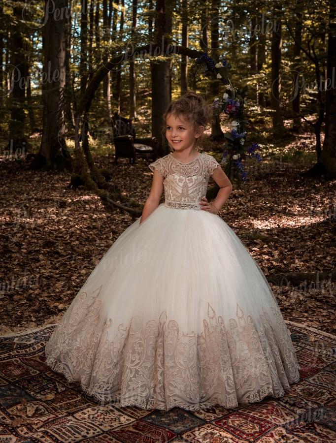 e24cc197b524a4 Купити нарядні дитячі сукні оптом від виробника Pentelei