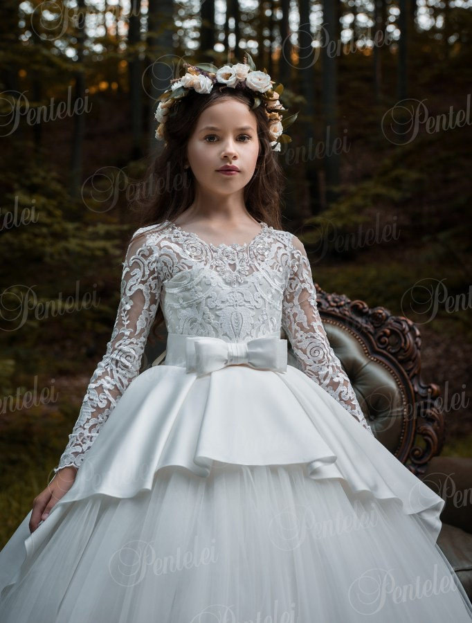 Children's magnificent dress in ball style from the manufacturer Pentelei wholesale
