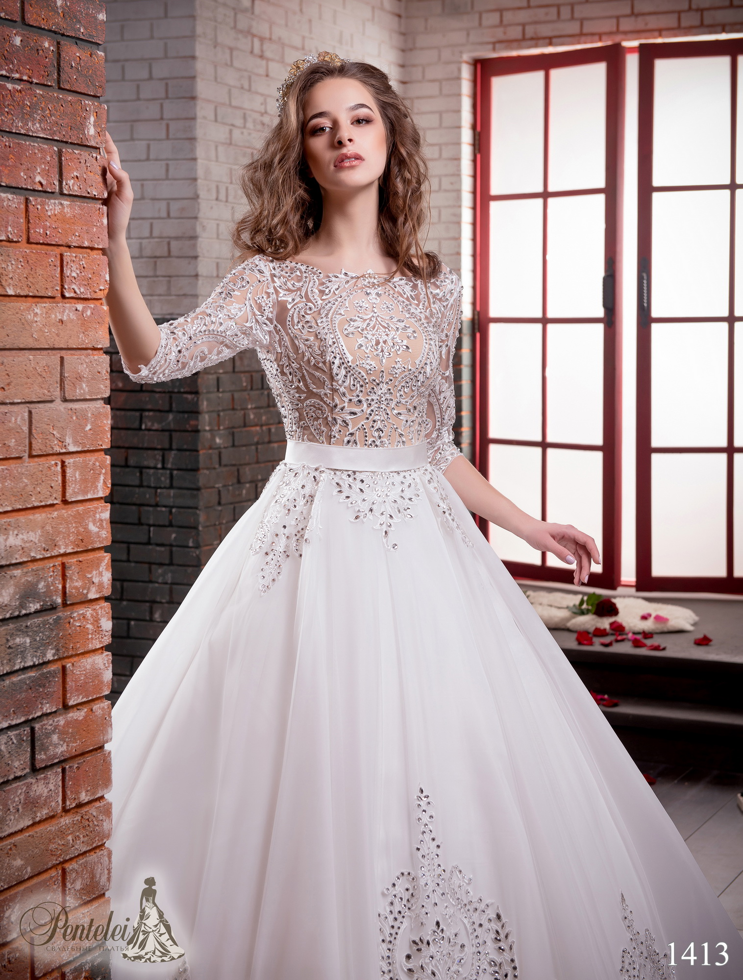 1413 | Buy wedding dresses wholesale from Pentelei