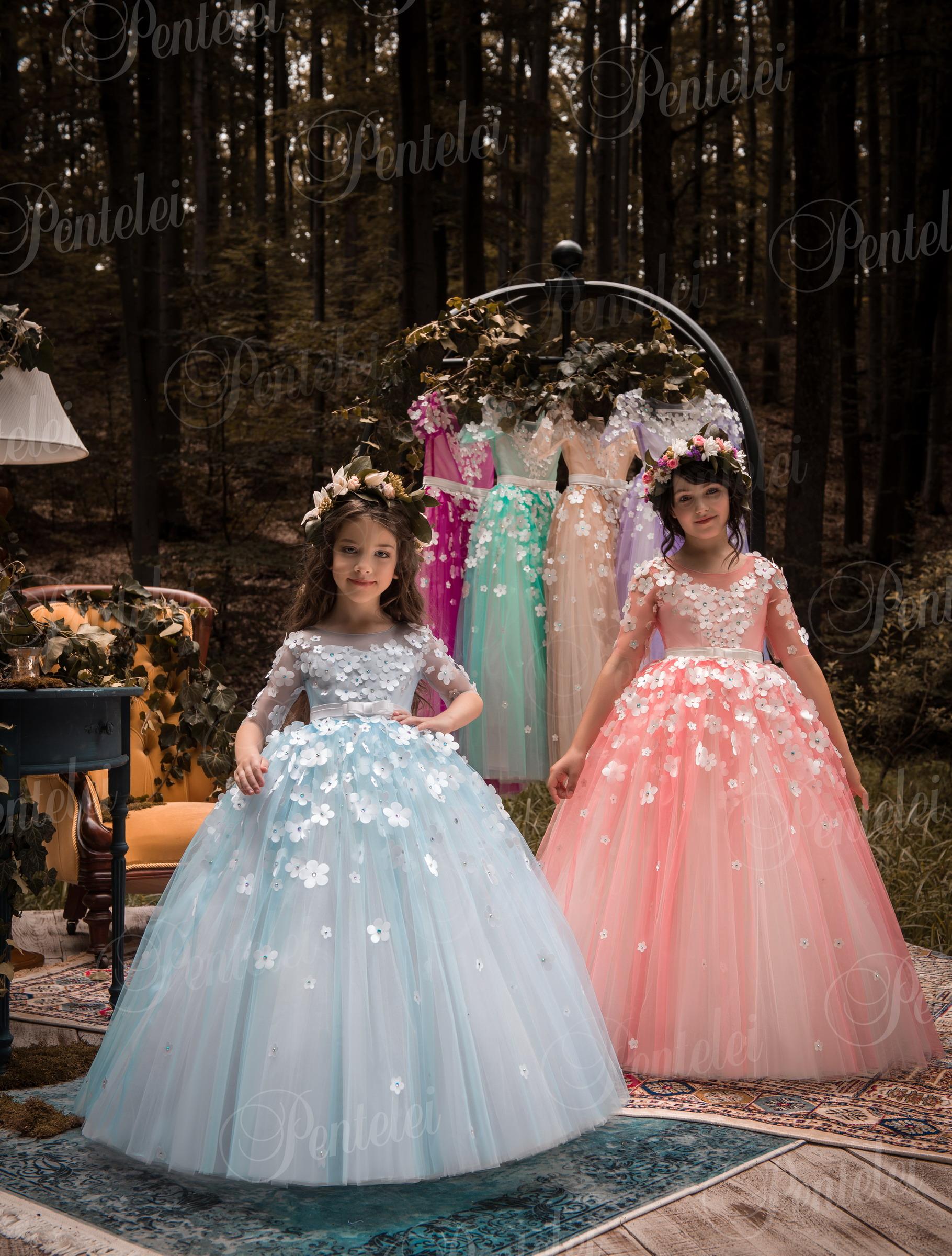 2101 | Купить детские платья оптом от Pentelei