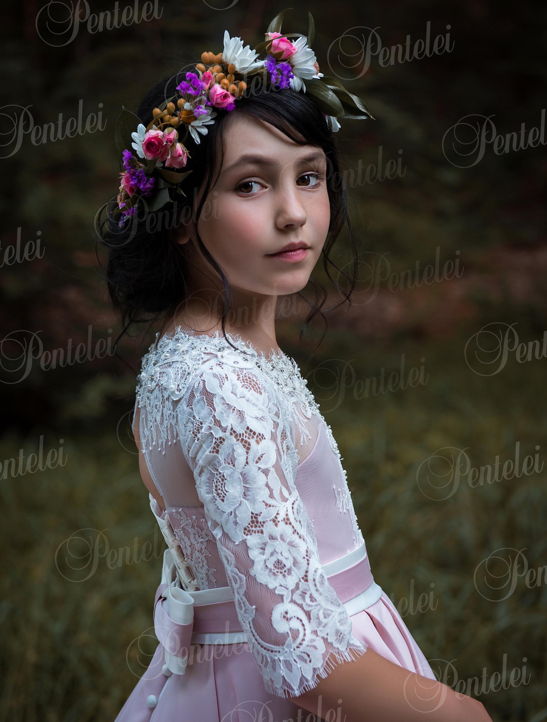 2187 | Купить детские платья оптом от Pentelei