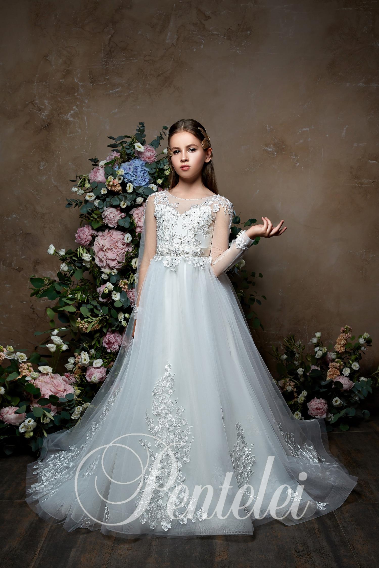 Детские бальные пышные платья с практически невесомой юбкой