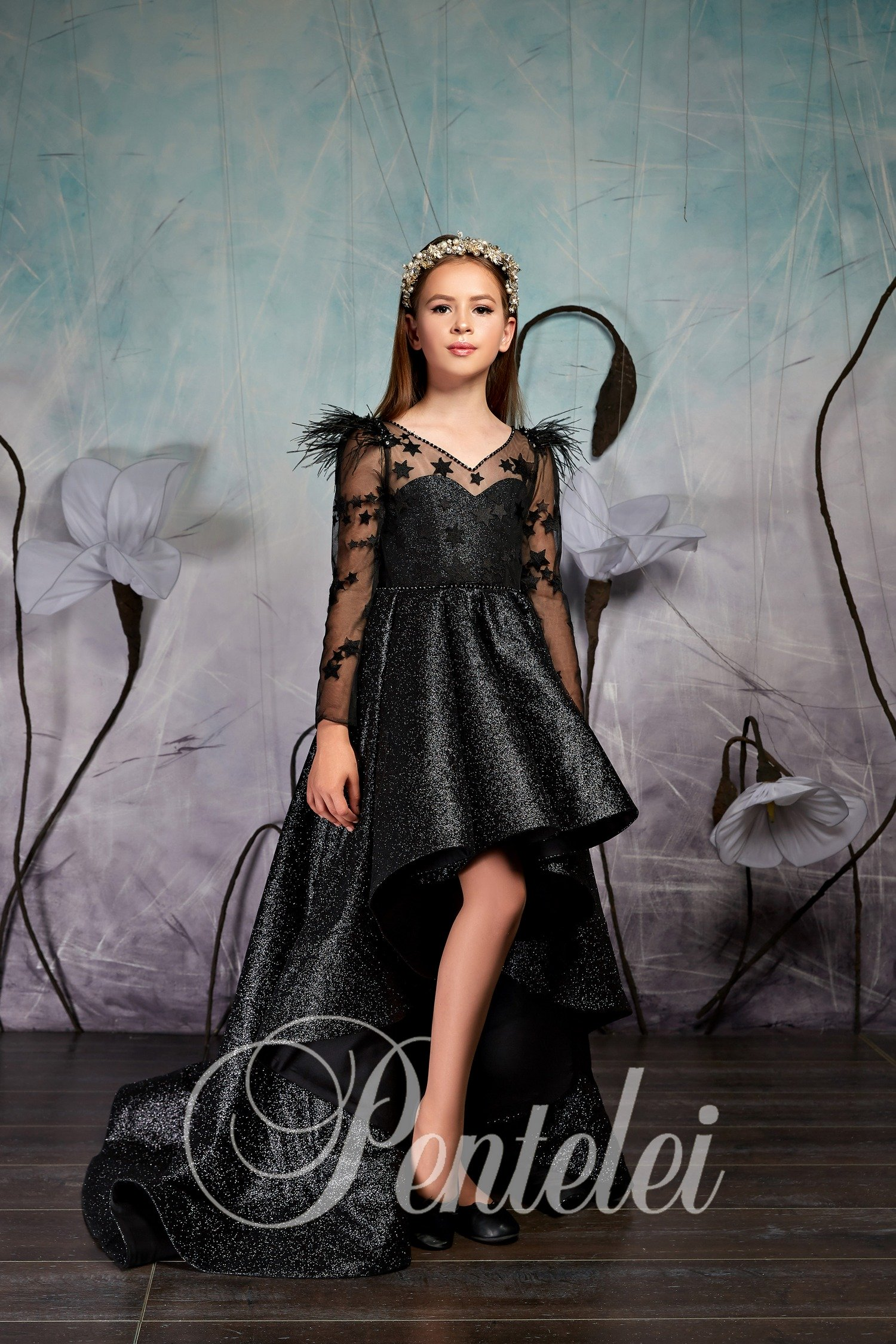 Детское вечернее платье фото